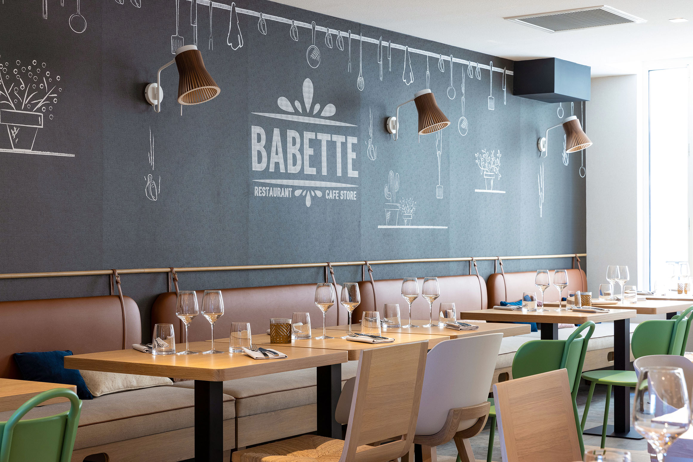 Babette Concept Store - Restaurant - Tours Centre